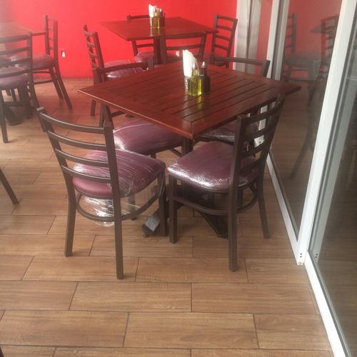 mesas y sillas para restaurante bar cafeterias