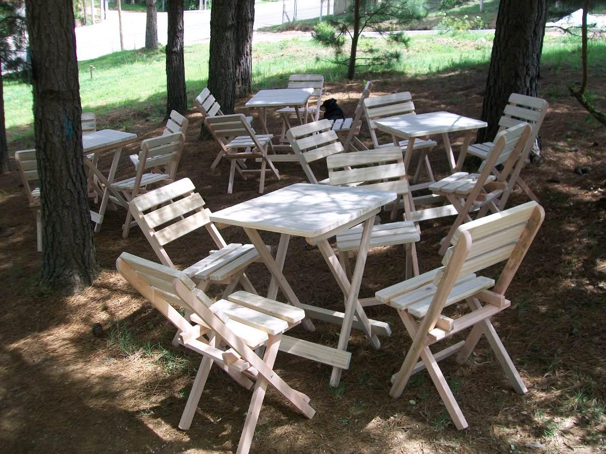 Mesas y sillas plegables para camping dise os - Mesa plegable maleta carrefour ...