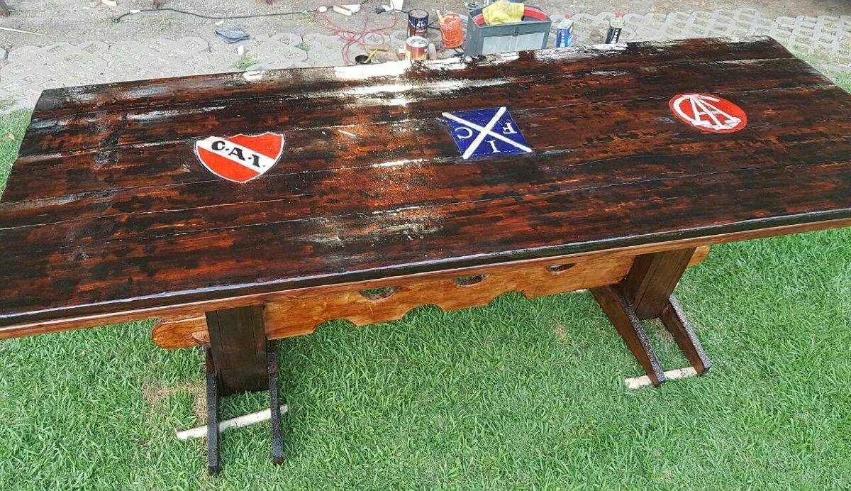 Mesas Muebles Mesadas Quincho Personalizadas 1 00 En Mercado Libre # Muebles Wood Haedo