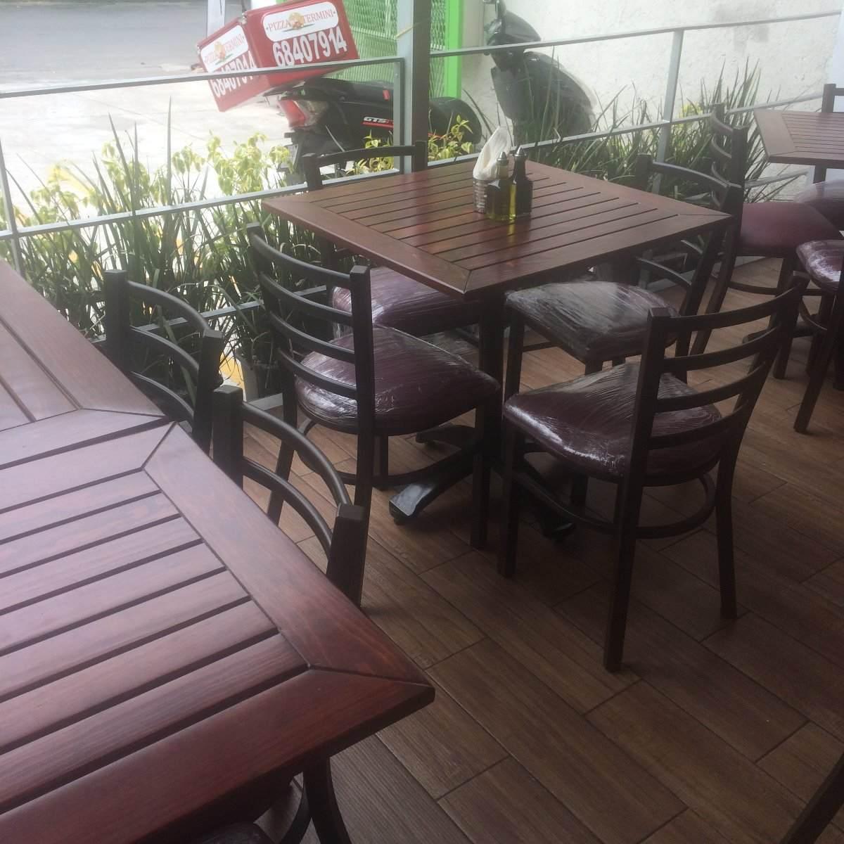 Mesasy sillas para restaurante bar cafeterias 3 - Sillas para cafeterias ...