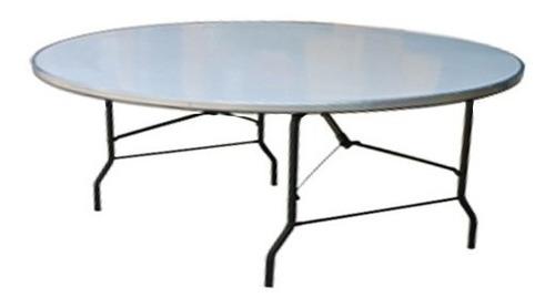 mesa/tablon redondo 1.50m diámetro 10 personas envio gratis!