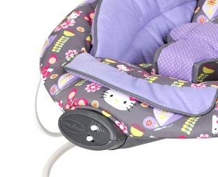 mesedora bebe  baby trend bouncer, hello kitty