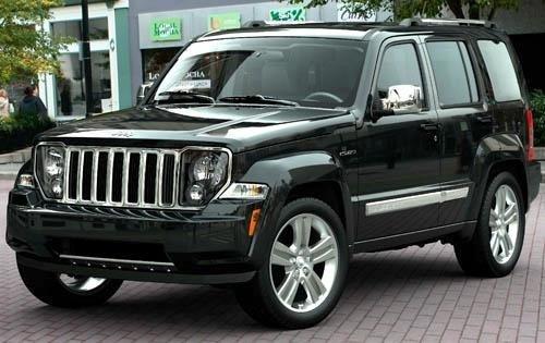 mesetas superiores jeep cherokee liberty kk 08/14 mopar sp