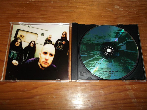 meshuggah - contradictions / none cd imp ed 1999 mdisk