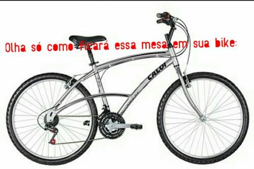 mesinha avanso guidão de bicicleta mônaco inclinada 40graus