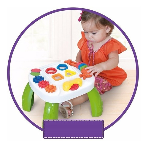 mesinha didática pedagógica infantil educativa criança