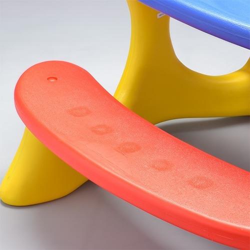 mesinha plastica infantil bandeirante mesa recreio novo