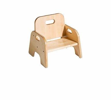 mesita +  1 silla para niños en madera de pino
