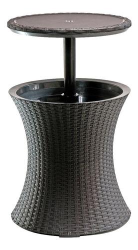 mesita auxiliar cooler frapera pacific rattan keter