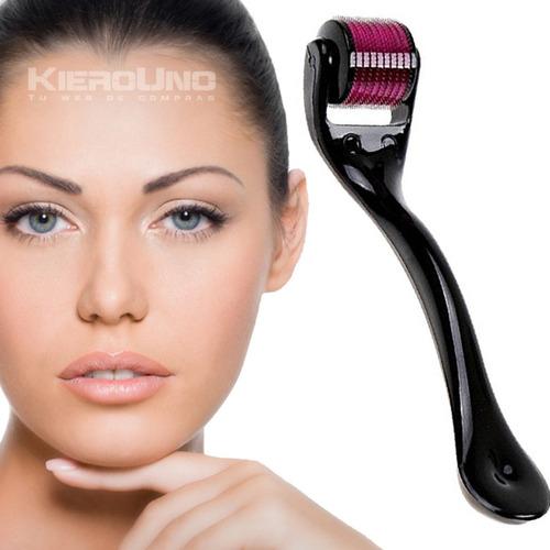 meso derma roller 1.0mm microagujas rostro cuerpo acupuntura