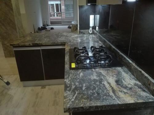 mesones cocina y baño en granito natural, marmol, quartztone