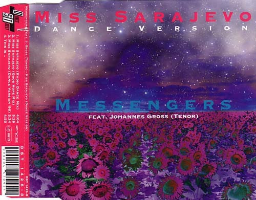 messengers - miss sarajevo (dance version) cd single import