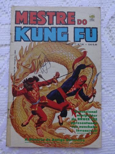 mestre do kung fu nº 24 terror da morte inclui poster bloch