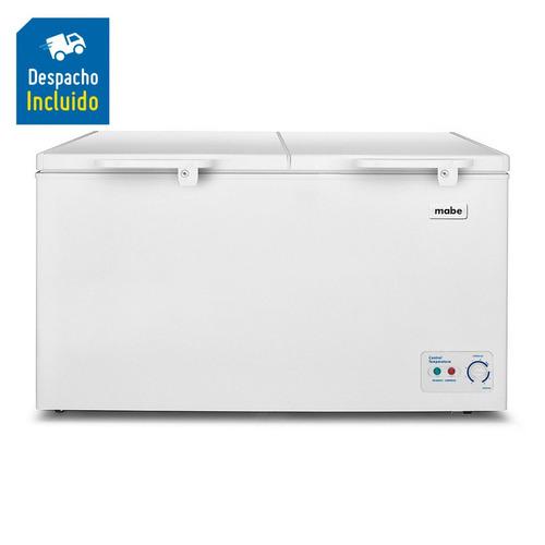 met-h mabe congelador horizontal 430lt blanco alaska430b2  m