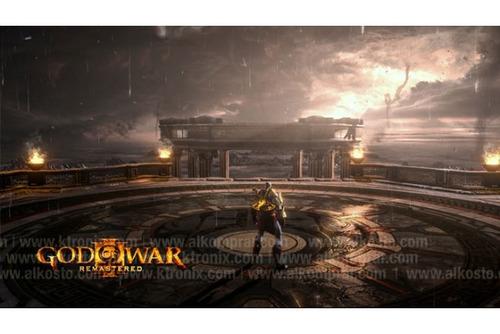 met-k playstation videojuego ps4 god of war 3 remasterizado
