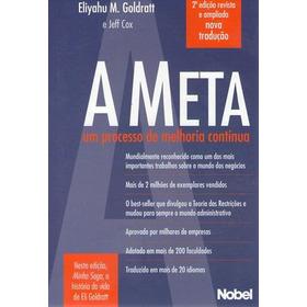Meta, A (2º Edição Revista E Ampliada ) Cox, Jeff / Goldra