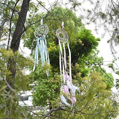 metal anillos aros macramé anillos para soñar catcher y arte