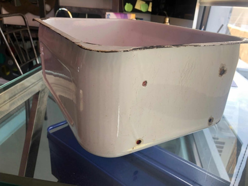 metal antiguo cajón heladera mueble enlozado chapa siam gr