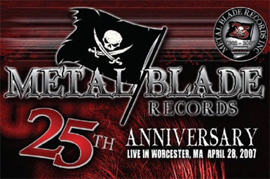 metal blade 25th anniversary