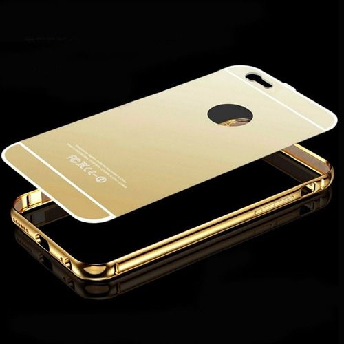 metal case mirror espejo para iphone 6/6s/6plus