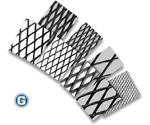 metal desplegado 620-30-60 de 1.22 x 2.45 mt en hoja mallas metálicas gramabi cerramiento reja paño material desplegable