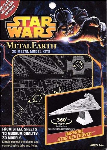 metal earth - star wars imperial star destroyer - mms254