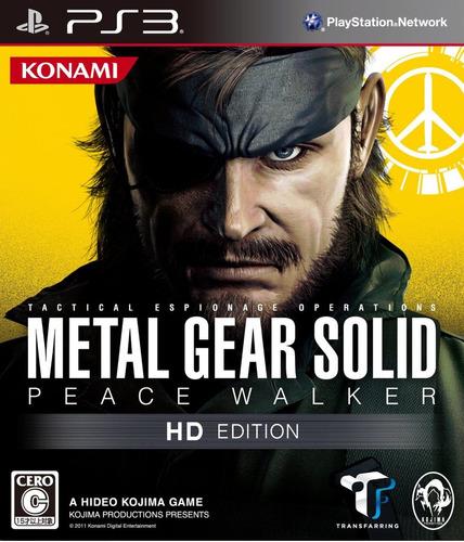 metal gear - peace walker - digital ps3