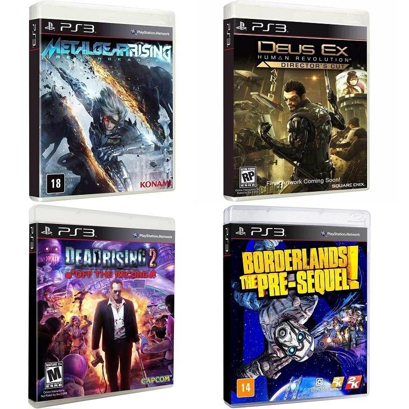 Metal Gear R, Deus Ex, Dead Rising 2, Borderlands Sequel Ps3