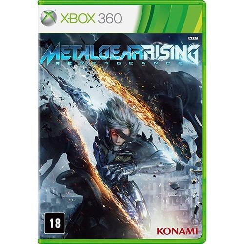 metal gear rising revengeance xbox 360 lacrado pt-br
