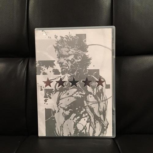 metal gear saga vol. 1 - dvd