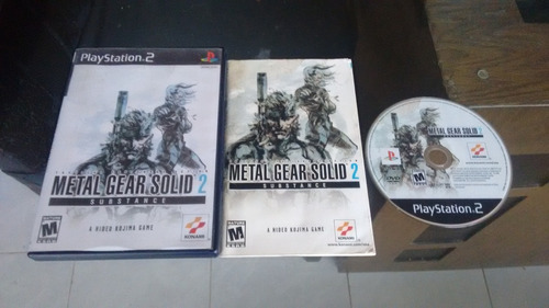 metal gear solid 2 substance completo para play station 2
