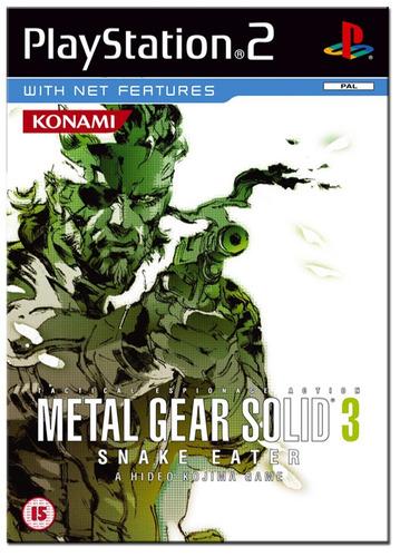 metal gear solid 3 - snake eater. ! jogos ps2
