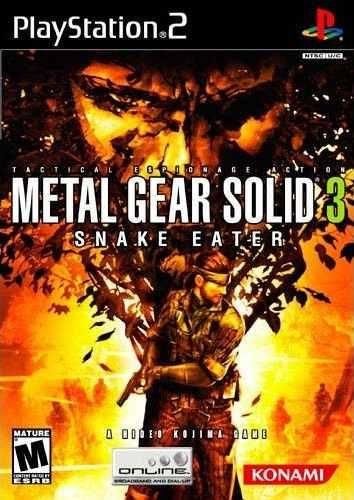 metal gear solid 3 snake eater  ps2 en idioma ingles.