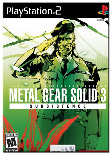 metal gear solid 3 subsistence. ! jogos ps2