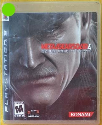 metal gear solid 4 guns of the patriots ps3* play magic
