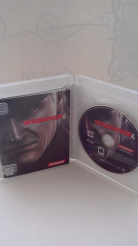 metal gear solid 4 ps3