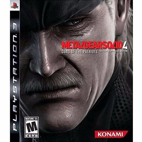 metal gear solid 4 - ps3