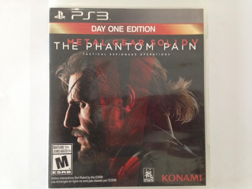 metal gear solid 5 the phanton pain ps3