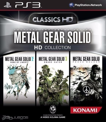 metal gear solid collection ps3