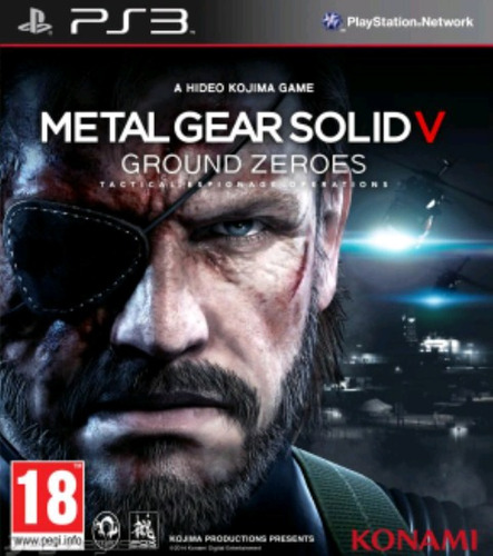 metal gear solid ground zeroes ps3