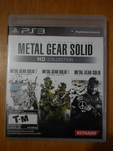 metal gear solid hd collection para el play station 3