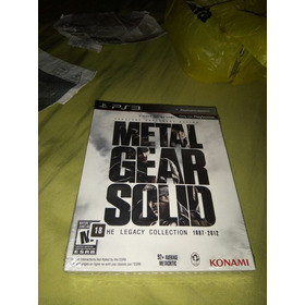Metal Gear Solid Hd Collection The Legacy Collection Artbook