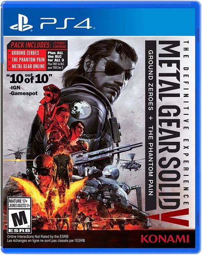 metal gear solid juego ps4