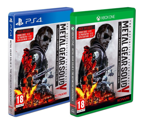 metal gear solid v: defintive experience - ps4 xbox one