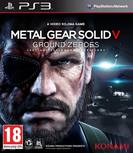 metal gear solid v ground zeroes - ps3 fisico