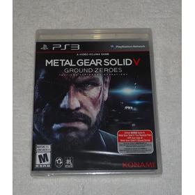 Metal Gear Solid V Ps3 Lacrado Leg Portugues * Frete Gratis