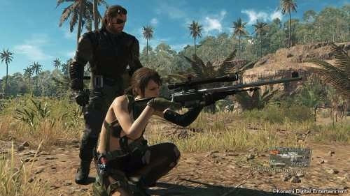 metal gear solid v: the phantom pain juego digital ps3