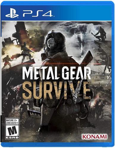metal gear survive / juego físico / ps4