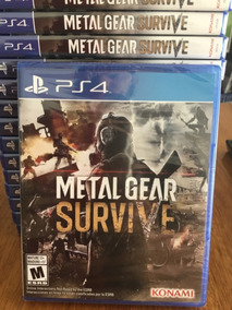 Metal Gear Survive- Ps4- Físico- Nuevo- Sellado- Stock Ya