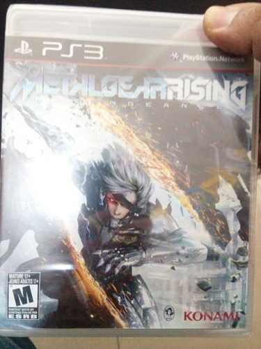 metal gears rising revengeance ps3